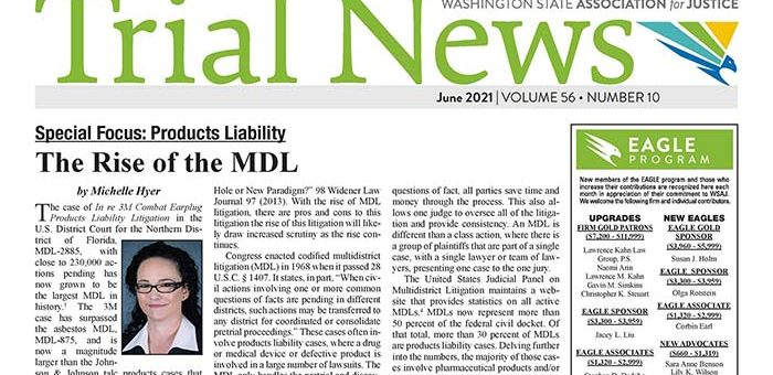 <span>Special Focus: Product Liability</span>The Rise of the MDL